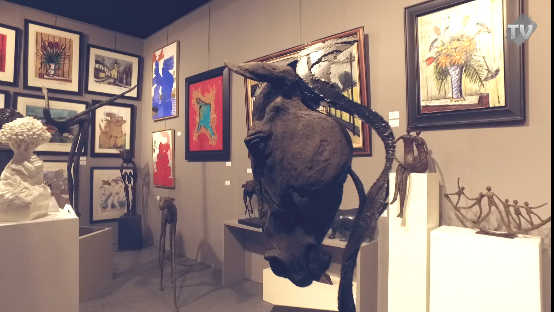 Salon Art Fair 2018 à Antibes